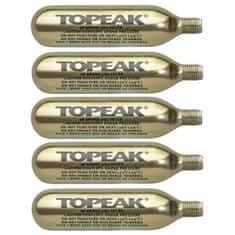 Topeak bombica CO2, 5 kosov