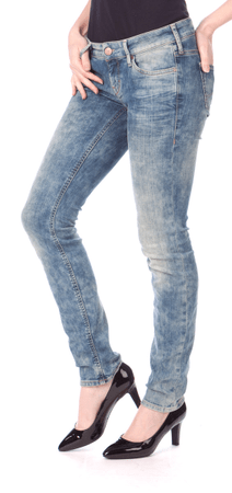 Mustang dámské jeansy Gina 25/32 modrá