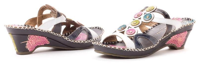 Laura Vita dámské pantofle Vana 38 černá