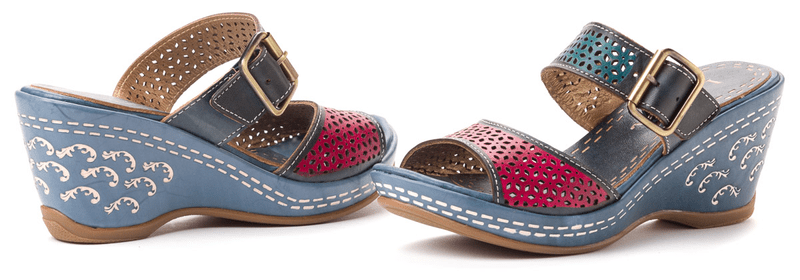 Laura Vita dámské pantofle Venin 41 modrá