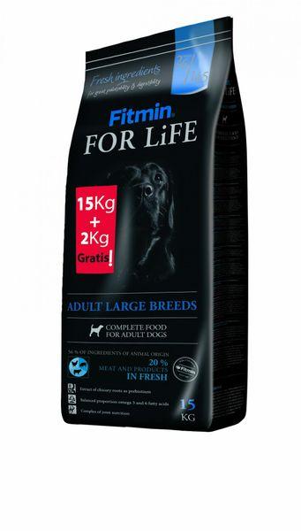 Fitmin For Life Adult Large Breed 15 kg + 2 kg Zdarma