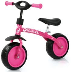 Hauck Prvý bicykel Super R10 - ružová
