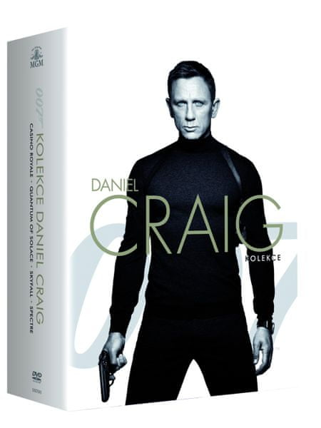 JAMES BOND Daniel Craig - kolekce (4DVD) - DVD