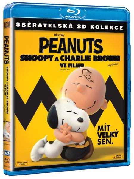 Peanuts: Snoopy a Charlie Brown ve filmu 3D+2D (2BD) - Blu-ray