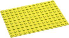 Hubelino Podložka na stavění 140 žlutá