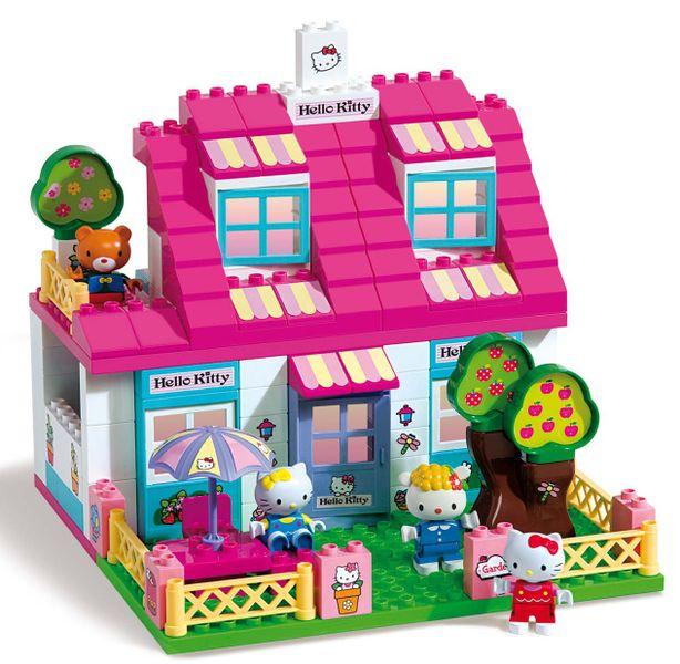 Unico Stavebnice domeček pro Hello Kitty, velký