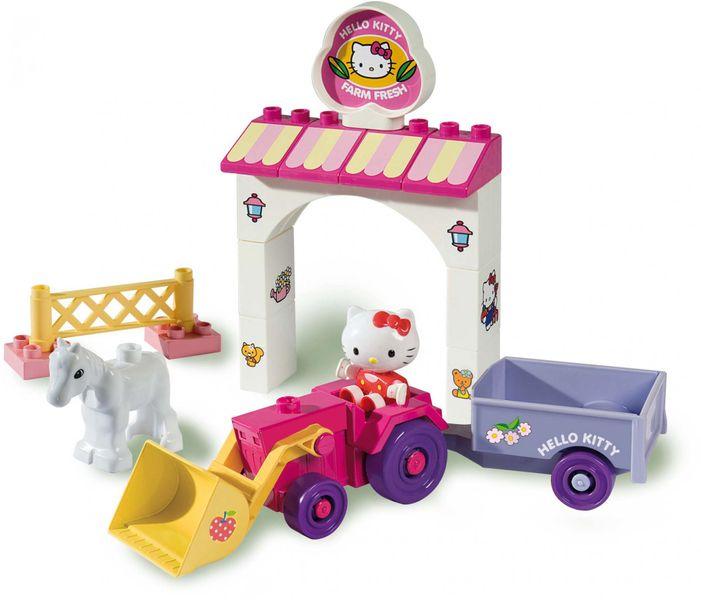 Unico Stavebnice Hello Kitty s traktorem