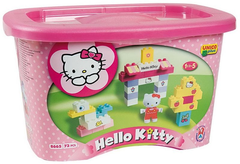 Unico Box s kostkami Hello Kitty