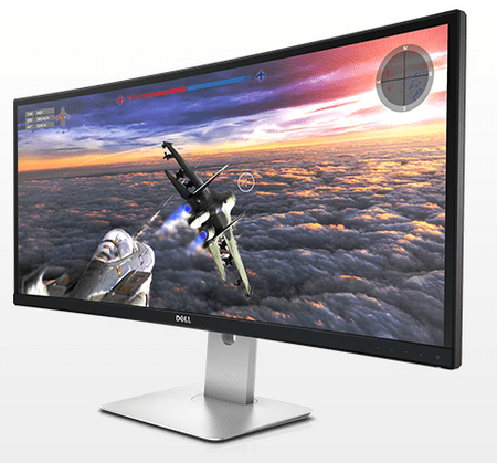 DELL LED monitor UltraSharp Curved U3415W