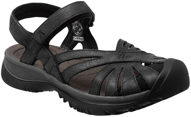 KEEN Rose Leather W Black/Raven US 8 (38,5 EU)