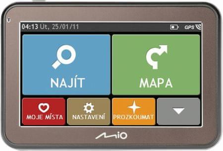 MIO navigacija Spirit 7500 FEU+Adria LM
