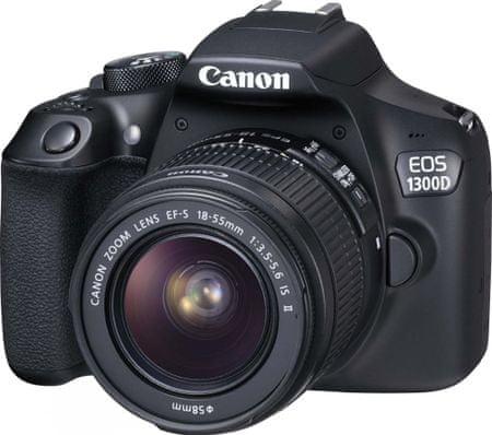 Canon EOS 1300D + 18-55 EF-S IS II + 1000 Kč od Canonu zpět!