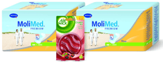 Hartmann wkładki MoliMed Premium Mini 2 x 14 sztuk + prezent
