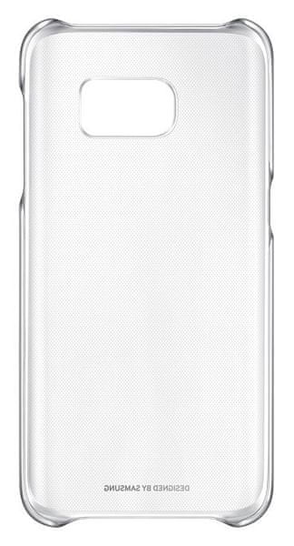 Samsung Kryt Clear Cover, Galaxy S7, stříbrný
