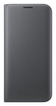 SAMSUNG Galaxy S7 bőr book cover tok,Fekete