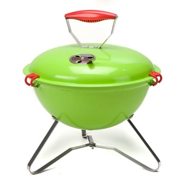 M-TREND Minime piknikový gril zelená