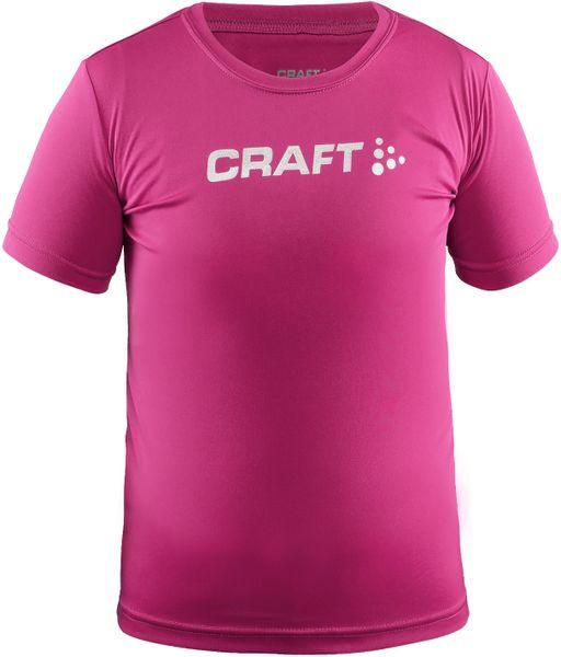 Craft Triko Run Logo Růžová 134