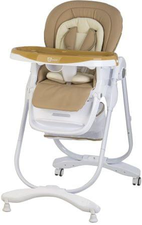 G-mini Jídelní židle Mambo, světle hnědá
