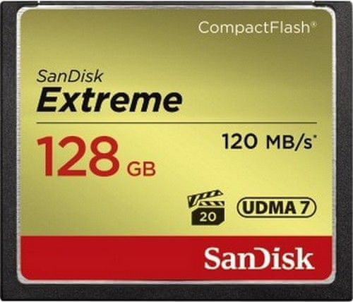 SanDisk Compact Flash Extreme 128GB 120MB/s (SDCFXSB-128G-G46)