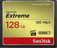 SanDisk Compact Flash 128GB Extreme 120MB/s