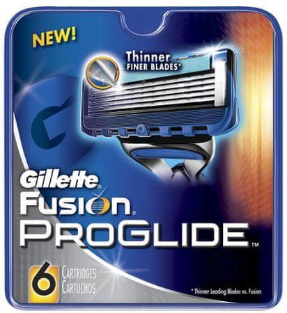 Gillette nadomestne glave Fusion Proglide Manual, 6 kosov