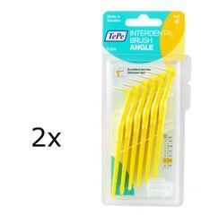 Tepe međuzubne četkice Angle 0,7, žute, 2x6