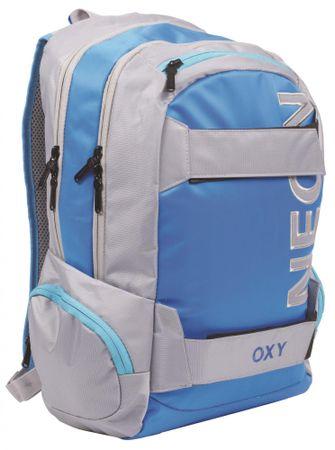 Karton P+P Plecak anatomiczny OXY Neon niebieski