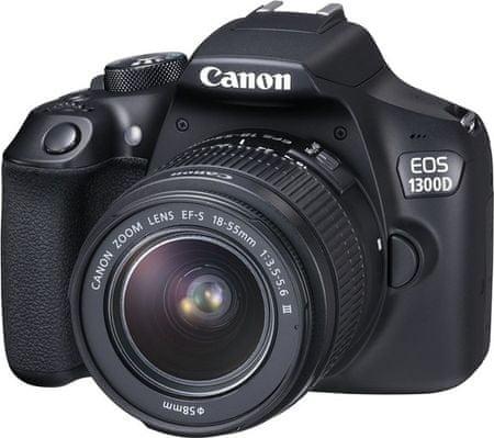 Canon lustrzanka cyfrowa EOS 1300D + 18-55 EF-S DC III