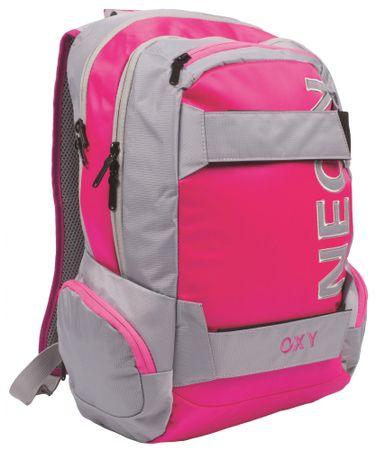 Karton P+P Plecak anatomiczny OXY Neon różowy