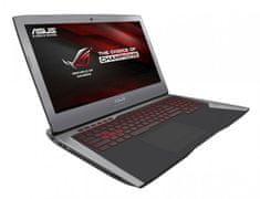 Asus prenosnik G752VM-GC059D i7/16GB/1TB+2x256 GB SSD/GTX 1060
