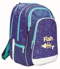 Karton P+P Anatomický batoh ERGO UNI Fish 79611529db