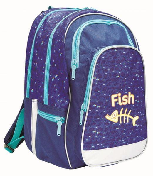 Karton P+P Anatomický batoh ERGO UNI Fish