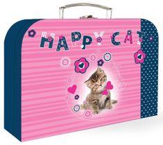 Karton P+P Kufrík lamino Mačka