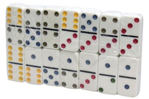 Unikatoy igra Domino v barvni škatli (24627)