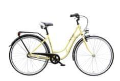 """Maxim rower miejski MC STEEL 0.4.3 superb żółty 18"""""""