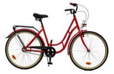 """Maxim rower miejski MC STEEL 0.4.3 superb czerwony 18"""""""