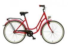 """Maxim rower miejski MC STEEL 0.4.1 superb 28"""" czerwony 18"""""""
