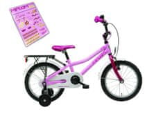 """Maxim rower dziecięcy Lilly 16"""" różowy 8"""""""