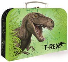 Karton P+P Kufrík papierový lamino T-rex