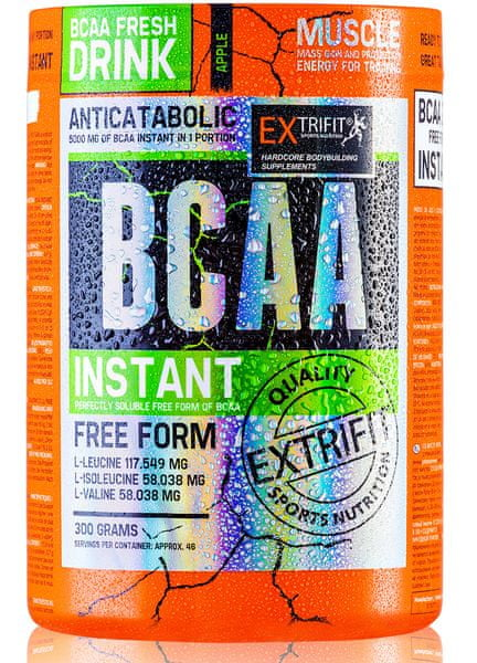 Extrifit BCAA Instant 300g orange