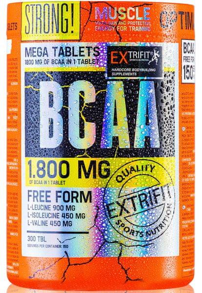 Extrifit BCAA 1800 mg 2:1:1 150tbl.