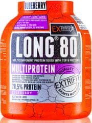 Extrifit Long 80 Multiprotein 2,27 kg jahoda