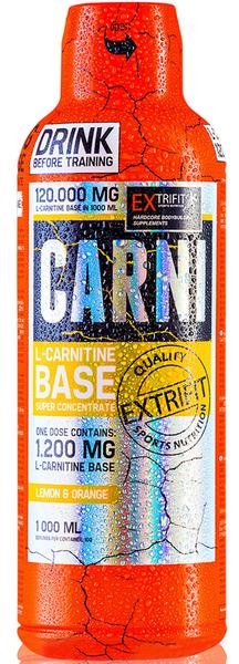 Extrifit Carni 120000 Liquid 1000 ml lemon & orange
