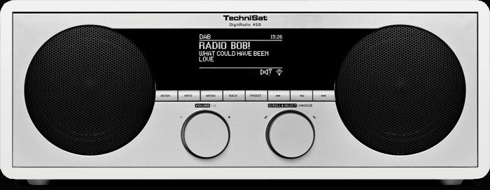 Technisat DigitRadio 450, bílá