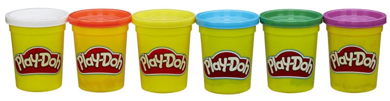 Play-Doh Balení 6 tub – základní barvy