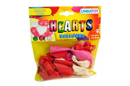 Unikatoy baloni srca 15 kosov (22369)