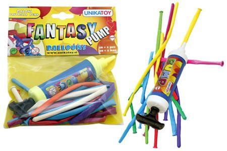 Unikatoy baloni fantazija-pump 10 kosov (24071)