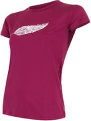Sensor Coolmax Fresh PT Feathers dámské triko krátký rukáv