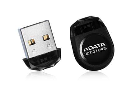 A-Data USB ključ UD310 64GB črn