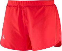 Salomon kratke hlače Agile Short, ženske, rdeče